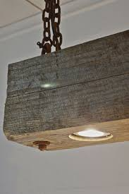 reclaimed lighting. Rustic Modern Hanging Reclaimed Wood Beam Light By Rte5Reclamation, $166.67 Lighting