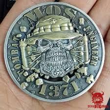 Mos 1371 Combat Engineer Marine Corps Challenge Coin