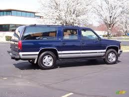 Indigo Blue Metallic 1993 Chevrolet Suburban K1500 4x4 Exterior ...