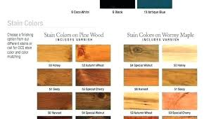 Wood Furniture Stain Color Chart Wood Cabinet Stain Colors Hansellemosi Vip