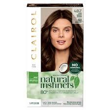 Natural Instincts Clairol Semi Permanent Hair Color Dark