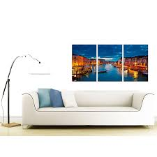 display gallery item 4 3 part italian city canvas prints 125cm x 60cm 3068 display gallery item 5  on italian wall art uk with cheap venice italy canvas prints uk 3 part for your living room