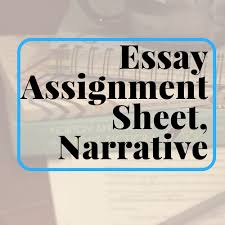 essay assignment sheet career exploration research mixed modes  essay assignment sheet narrative