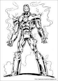 All of it in this site is free, so you can print them as many as you like. Iron Man Coloring Pages Free For Kids