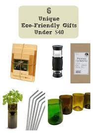 6 unique eco friendly gifts under 40