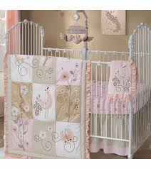 Lambs & Ivy Fawn 5 Piece Crib Bedding Set