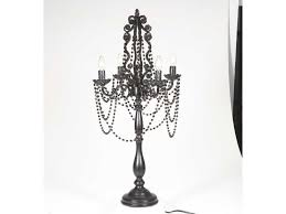 table lamp antique crystal chandelier black