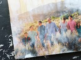 this is the easiest way to transfer a photo to wood use mod podge to
