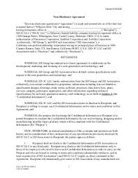 Accounting Employee Confidentiality Agreement Luxury Non Disclosure ...