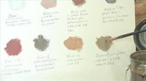 how to make brown paint how to make a brown skin color with paint brown how to make