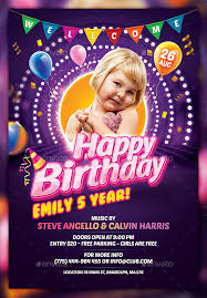 free flayers 26 birthday flyer templates free sample example format download