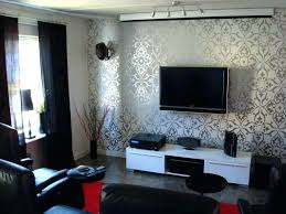 cool wallpaper ideas living room for decorating with good silver glitter