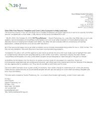 Examples Of Cover Letters For Resumes Resume Sample Source