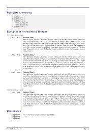 Resume Template Latex Examples Modern Cv Ivan Greguric Ortolan The