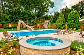 Cool Pool Ideas hot tub landscaping for the beginner on a budget 4113 by guidejewelry.us
