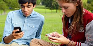 Mobile Smart Phone Teen Girl Stock Photo   Getty Images Depositphotos Pensive teen using her mobile Free Photo