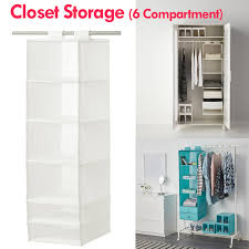 ikea set of 6 drawer organizer storage 4 colors available black white blue