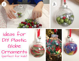 Lovely Kid Friendly Christmas Tree Decorations Part - 13: Fun Plastic Globe  Ornaments For Toddlers  Easy Present Ornament