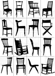 rocking chair silhouette. Plain Silhouette Silhouettes Of Home And Rocking Chair Vector Image U2013 Artwork  Objects  Leonido  On Rocking Chair Silhouette