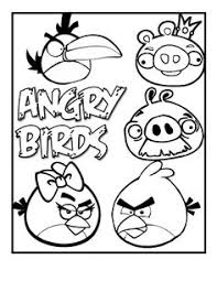 Small Picture Angry Birds Coloring Pages Free Printable Coloring Pages Cool