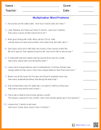 6+ word problems for 5th graders | math cover