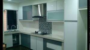 Kitchen Cabinet Modern Design Malaysia Youtube