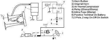 wiring diagram for air horn the wiring diagram vwvortex air horn installation need help hooking up the wires wiring diagram