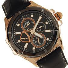 seiko lord mens rose gold plated watch srl038p1 srl038
