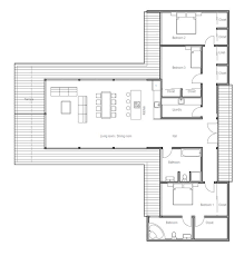 open floor house plans 2016 cottage house plans modern contemporary house plan with three bedrooms and