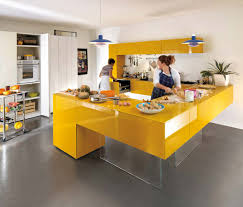 Kitchen Interior Colors Bright Kitchen Colors Yellow And Gray Interior Decorating Yellow
