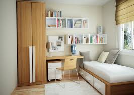 Simple Bedroom Design For Small Space Bedroom Simple And Neat White Small Space Bedroom Decoration