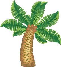 jointed coconut tree cutout birthday ideas 36 jointed coconut tree cutout