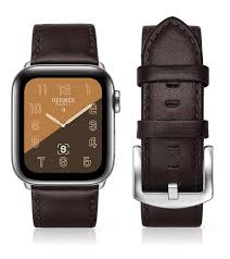 apple watch series 4 leather strap 44mm brown