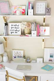 ways to decorate office. 24 chic ways to organize your desk and make it look good decorate office