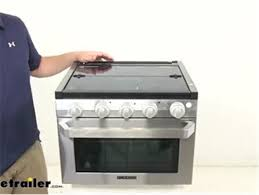 furrion rv stoves and cooktops stove fsre17sass review etrailer com