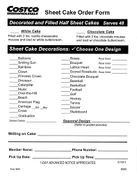 COSTCO CAKE PRICES BIRTHDAY WEDDING & BABY SHOWER