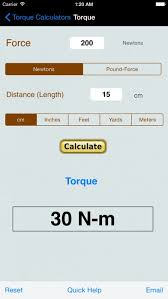 Foot Pounds To Newton Meters Chart Torque Calculator Units Converter App Profile Reviews