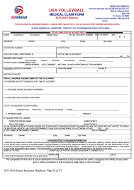 Top 5 Usav Medical Release Form Templates Free To Download In Pdf Format