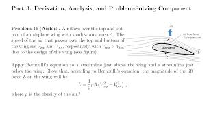 Airfoil Wing Design Part 3 Derivation Analysis And Problem Solving
