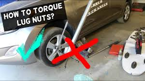 Automotive Wheel Torque Chart How To Torque Lug Nuts With Torque Wrench