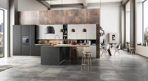 Fitted Kitchen Fitted Kitchen With Integrated Handles Time By Arredo 3