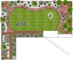 Backyards  Gorgeous Landscape Sloped Backyard Design Ideas My Landscape My Backyard