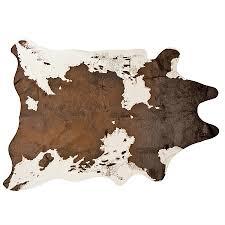 design republique faux cow hide rugs