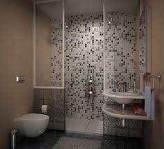 shower wall tile design with mosaic ideas for small bathroom