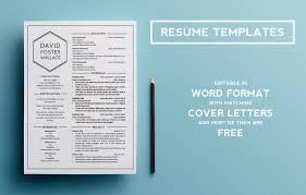 Resume Template Behance Resume Template Free Career Resume Template
