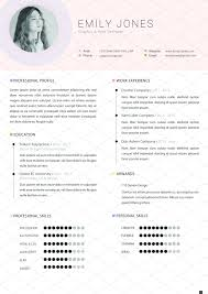 Simple Color Cv Resume Template C Affiliate Wordmicrosoft