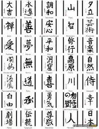 эскизы тату японский иероглиф клуб татуировки фото тату значения