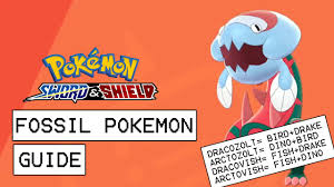 Pokemon Sword Shield Fossil Pokemon Guide How To Farm All Fossil Types