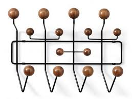 Eames Coat Rack Walnut Limited Edition Walnut Eames HangItAll Design Milk 2