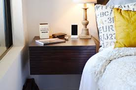 Wall Mounted Drawer Floating Nightstand - Mayan Espresso
